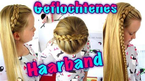 geflochtenes haarband teil  halber hollaendischer