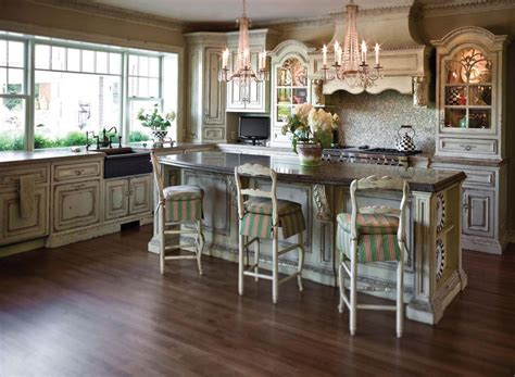 Unfinished Tall Kitchen Corner, French Country Cottage