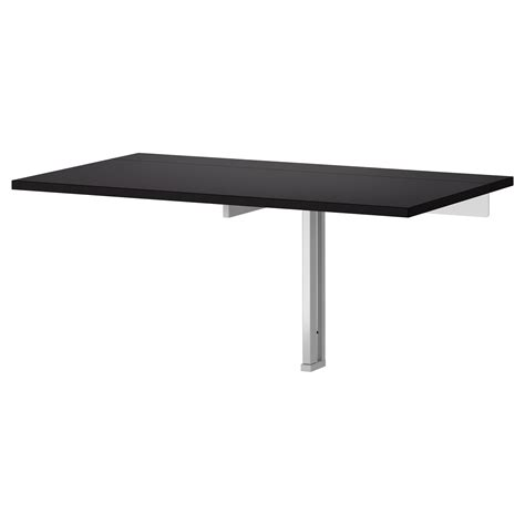 wall mounted fold out table bjursta wall mounted drop leaf table brown black drop