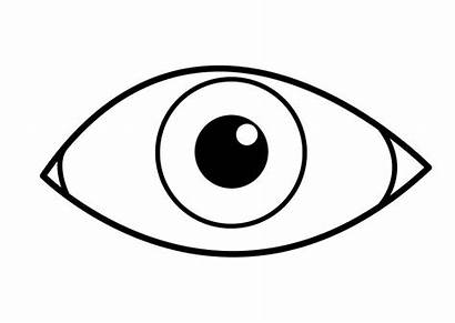 Coloring Eye Coloriage Oeil Pages Printable Para