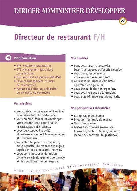 fiche metier commis de cuisine fiches des métiers hôtellerie restauration hôtellerie