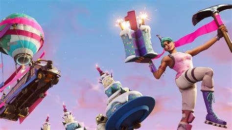 fortnites birthday celebration event rewards announced