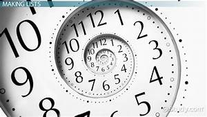 Time Management Activities For High School Students