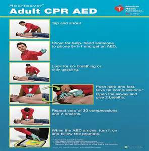 Heartsaver Adult CPR AED