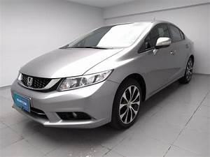 Compre Honda Civic   Cinza Na Volanty Com