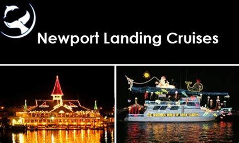 newport light parade cruises newport landing cruises in newport beach california groupon