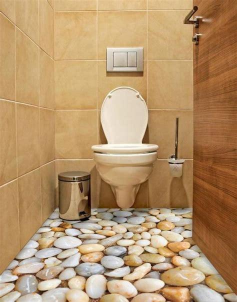 25  3D Flooring Inspirations For Bathroom