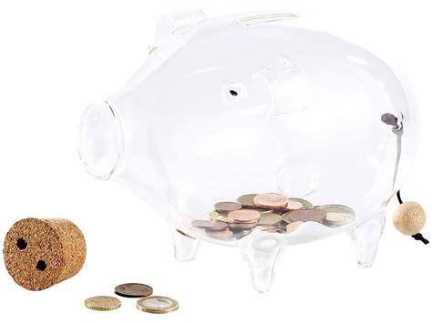 sparschwein aus glas carlo deko xl sparschwein aus glas 21 cm