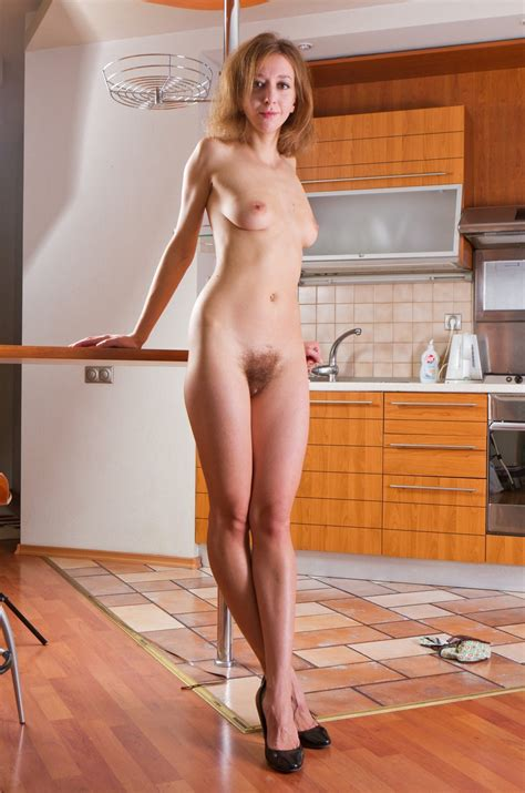 MILF In The Kitchen Hairy Pussy Hardcore Pictures
