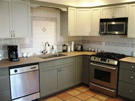 reface kitchen cabinets before and refinishing kitchen cabinets to give look in the