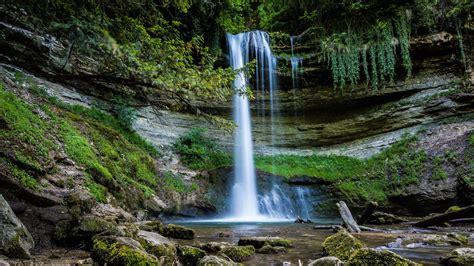 Download Wallpaper 1920x1080 Waterfall Water Rocks Landscape Full Hd Hdtv Fhd 1080p Hd