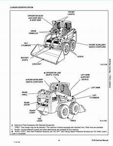 Bobcat S130 Skid Steer Loader Service Repair Workshop Manual 529211001