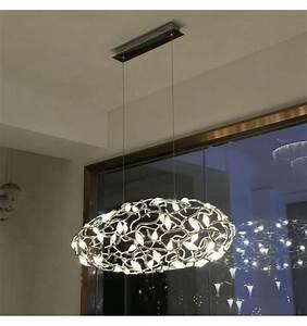 Luminaire Led Suspension : luminaire suspension florale led conomique queen ~ Teatrodelosmanantiales.com Idées de Décoration