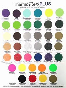 Thermoflex Plus Color Chart