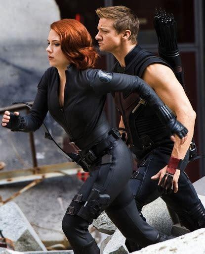 Clear Look Hawkeye New Black Widow Costumes Cinema