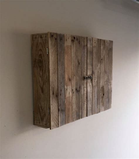 wall mounted pallet tv cabinet  palletgurus  etsy