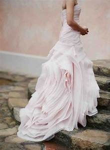 pale pink wedding dress wedding and bridal inspiration With pale pink wedding dress