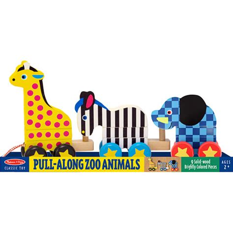 pull  zoo animals  toyworks