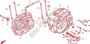 Crankcase For Honda Nx 125 1989   Honda Motorcycles  U0026 Atvs