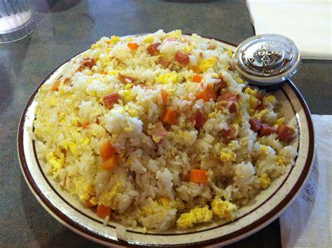 spam fried rice  shirleys restaurant  guam guam