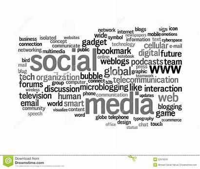 Word Graphics Social Tekst Texte Medias Wolken