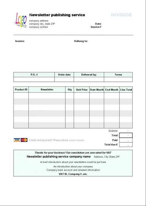 Resume Template Libreoffice by Libreoffice Invoice Template Free Excel Templates