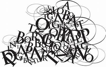 Jumble Tipografia Typography Alphabet Miscuglio Typographie Het