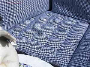 Sitzkissen 50x50 Cm : sitzkissen blau pepita 50x50 cm mauro gartenleben ~ Frokenaadalensverden.com Haus und Dekorationen