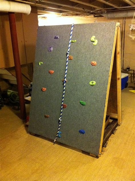 how to make an indoor wall build you own indoor rock climbing wall diy avenue