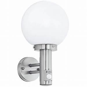 Led Wandlampe Mit Bewegungsmelder : kugelleuchte wandlampe mit bewegungsmelder wohnlicht ~ Markanthonyermac.com Haus und Dekorationen