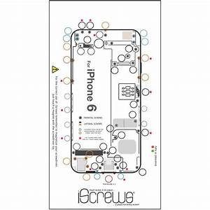 Best Photos of IPhone 6 Screw Template - iPhone 4 Screw ...