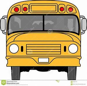 免版税库存照片: School Bus Front. 图片: 59923715