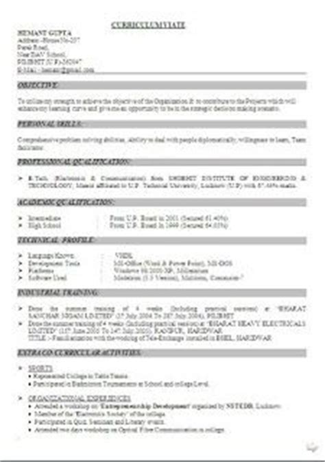 Seekers Resume In Pune by What Should Be On A Cv Sle Template Exle Ofbeautiful Excellent Professional Curriculum