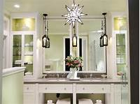 vanity lighting ideas Pictures of Bathroom Lighting Ideas and Options | DIY