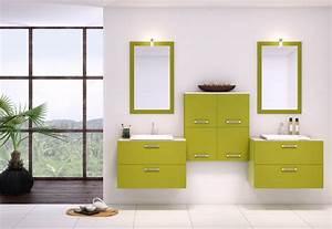 Meuble Salle De Bain Vert. meuble vasque chene vert. meubles et ...