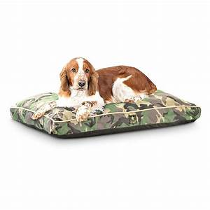 new us army camo pet bed woodland 211018 kennels With military dog bed