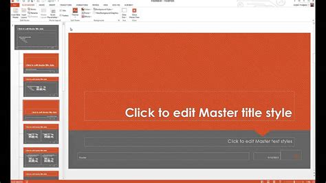 customize powerpoint templates youtube