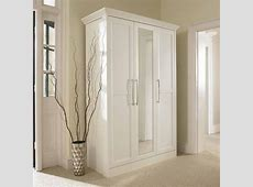 Simple Hallway with Bifold Mirrored Closet Doors Lowes