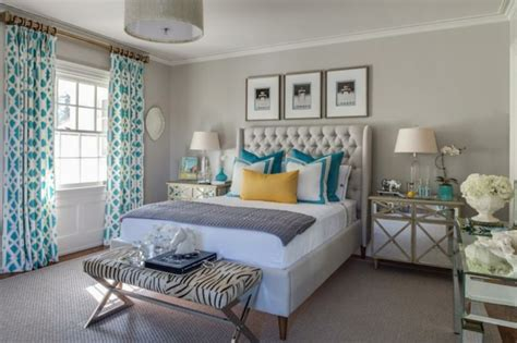 chambre turquoise turquoise brun décor de chambre à coucher