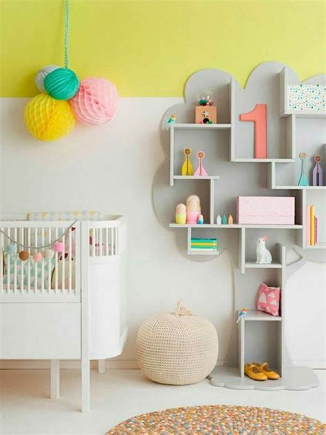 biblioth ue chambre b adopter la couleur pastel pour la maison