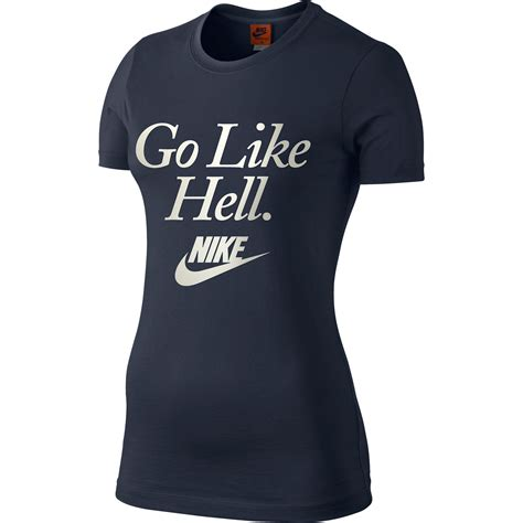 t shirt nike go like hell name wiggle nike go like hell t shirt running