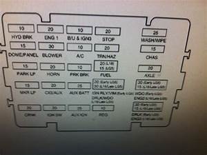 2001 Chevy Rollback C6500  Need Fuse Diagram For Underhood
