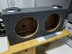 "12"" subwoofer box with 2 sony xplod speakers for Sale in ..."