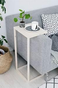 Table D Appoint Canapé : diy une table d 39 appoint pour le canap floriane lemari ~ Teatrodelosmanantiales.com Idées de Décoration