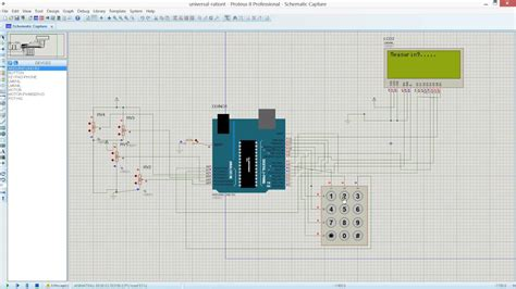 Electrical Fault Detector Using Arduino Simulation