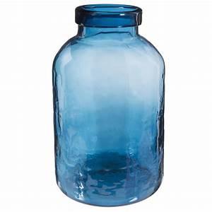Bonbonne En Verre : bonbonne en verre bleu h 29 cm capri maisons du monde ~ Teatrodelosmanantiales.com Idées de Décoration