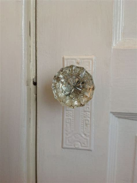 the vintage door knob adds interior character daley