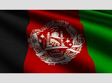 Afghanistan flag closeup ~ HD & 4K Stock Footage #927053