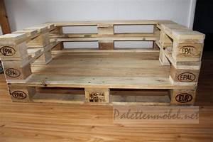 Europaletten Möbel Anleitung : couch aus paletten palettenm bel m bel aus paletten mit eigenen h nden ~ Markanthonyermac.com Haus und Dekorationen