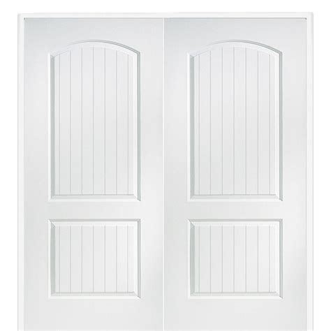 doors interior home depot masonite 48 in x 80 in smooth 10 lite solid primed